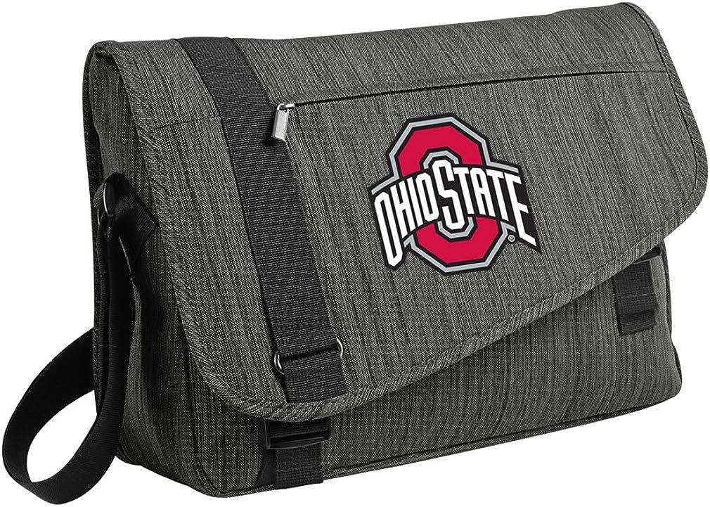 Broad Bay Deluxe Ohio State University Laptop Bag OSU Buckeyes Messenger Bags