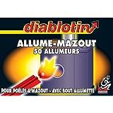Diablotin - alum3 - Allume mazout x50 avec bout allumette