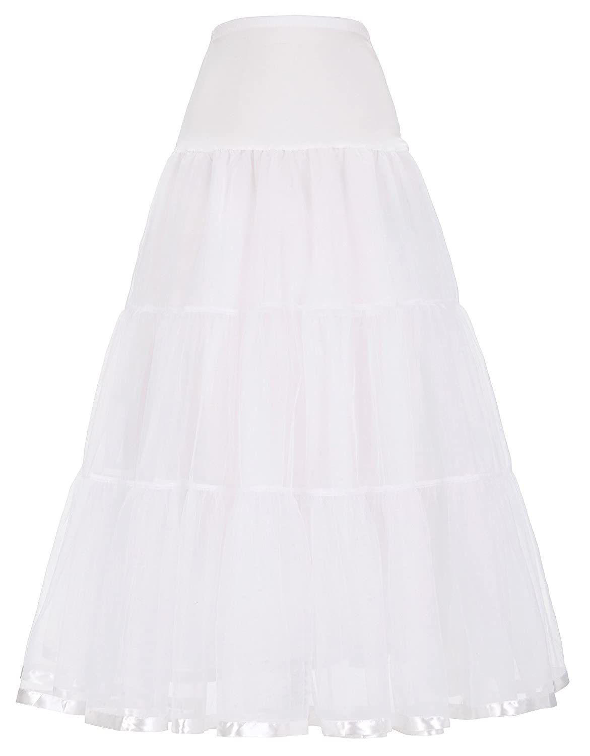 GRACE KARIN Women's Ankle Length Petticoats Bridal Slips