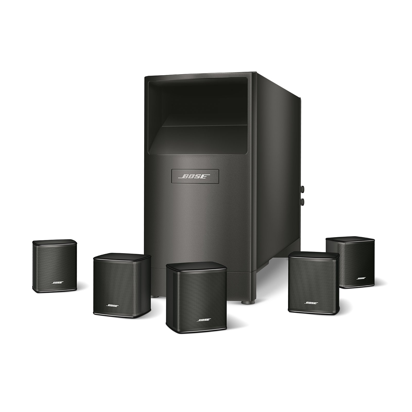 Bose Acoustimass 6 Series V Home Theater Speaker System (Black) by Bose