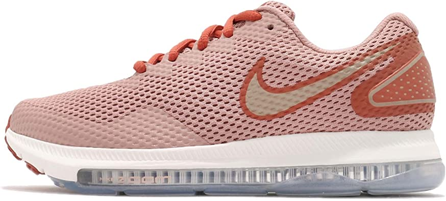 NIKE Women's WMNS Zoom All Out Low 2, Dusty PeachMTLC RED