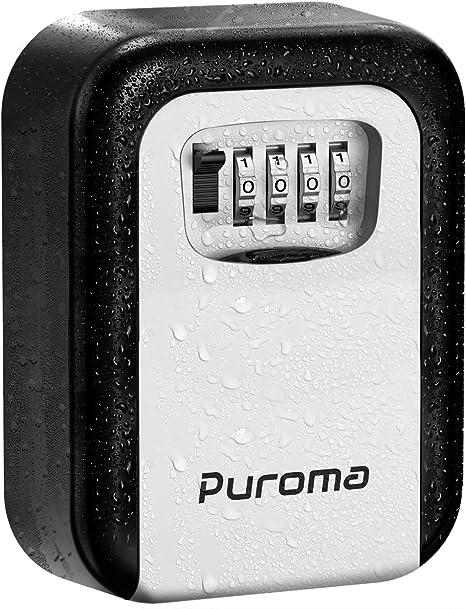 Amazon.com: Puroma - Caja de cerradura con 4 dígitos para ...
