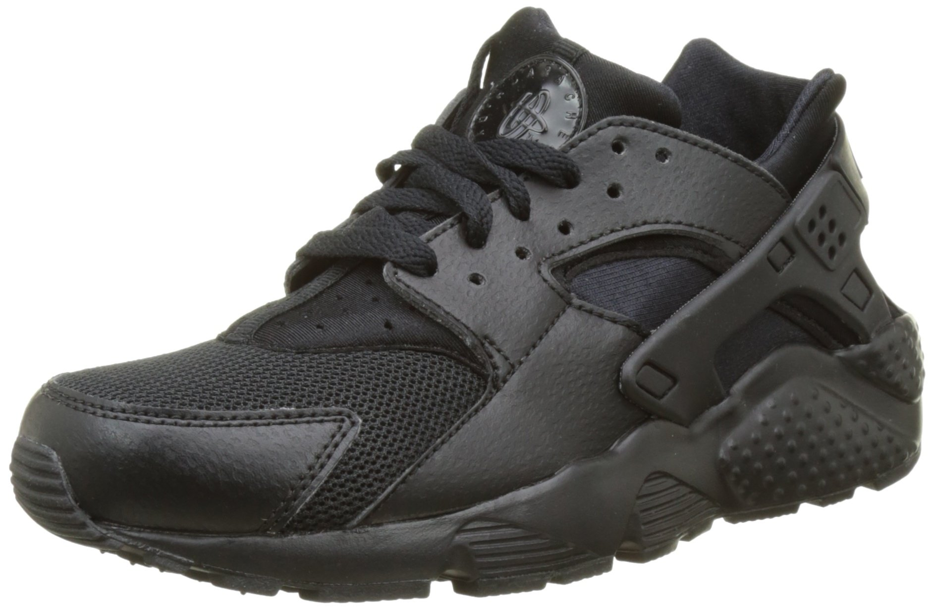 Nike Youths Huarache Run Black Synthetic Trainers 38 EU by NIKE