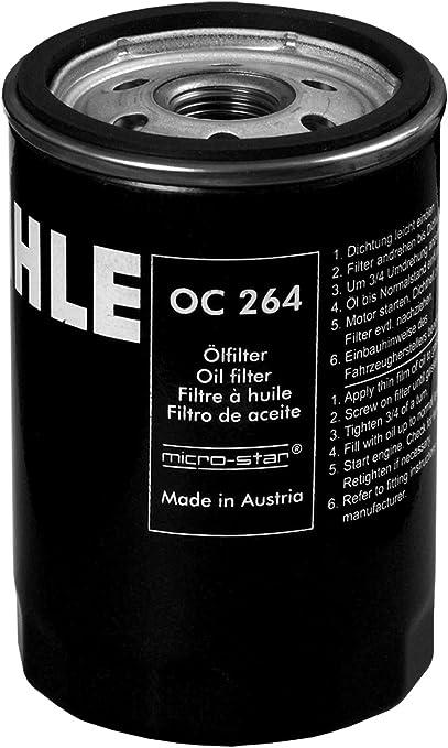 Mahle Knecht Oc 264 Öllfilter Auto