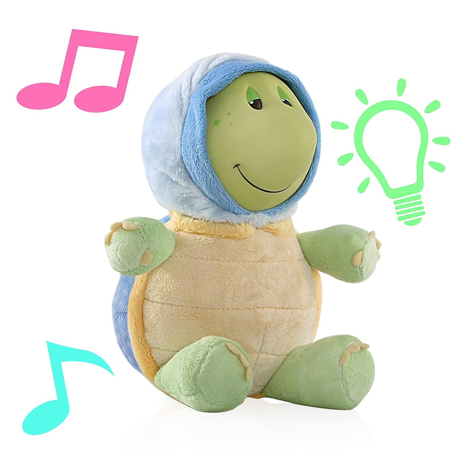 Bee Nuby Glo-Pals with Soothing Music and Soft Light