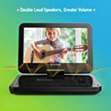 """Portable DVD Player 10"""" with 5 Hours Rechargeable"""