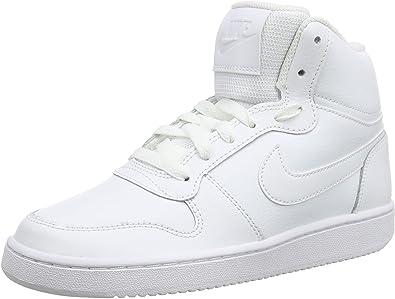 Parcialmente Explosivos Volverse  NIKE Ebernon Mid, Zapatos de Baloncesto Mujer: Amazon.es: Zapatos y  complementos