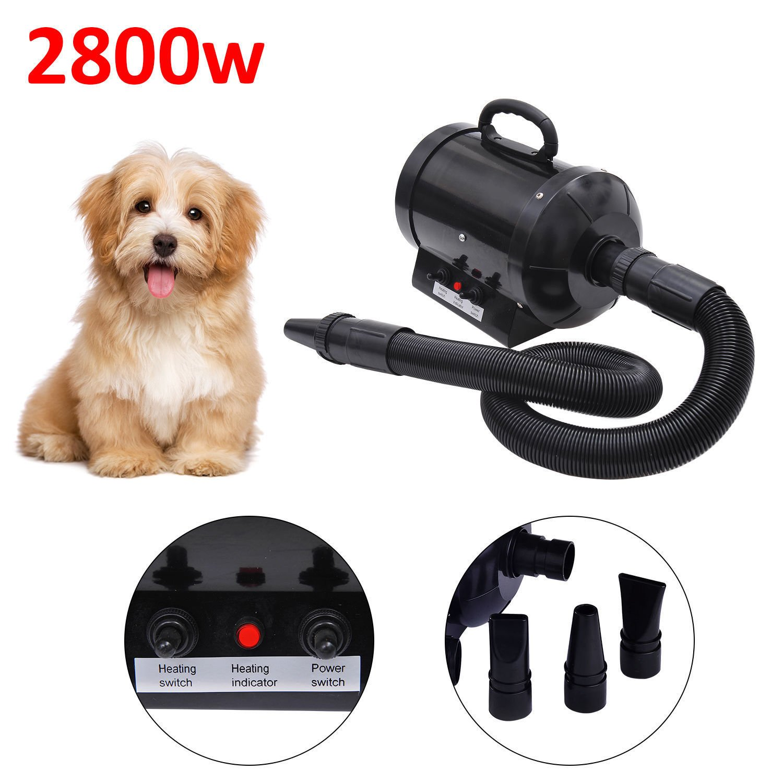 Pawhut Dog Pet Grooming Hair Dryer Hairdryer Heater Blaster 2800w