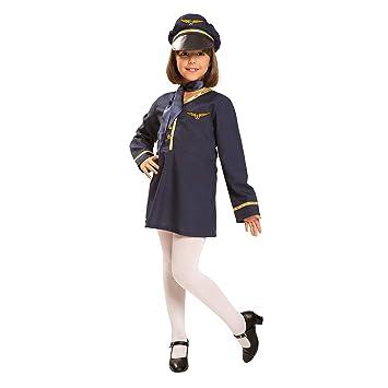 lowest price d3e4d 9766a My Other Me - Costume da hostess, da bambina (Viving ...