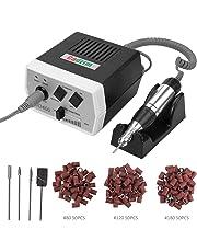 Cadrim manucure machine ongles electrique Kit Complet Ponceuse Électrique Professionnelle manucure et pédicure