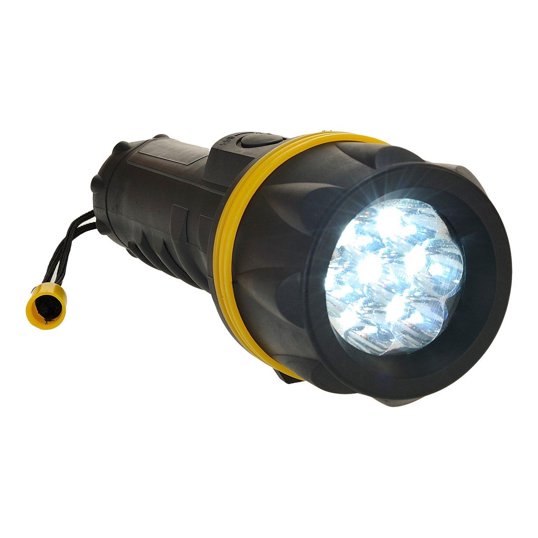 Giallo//Nero Portwest PA60YBR Torcia in Gomma a LED