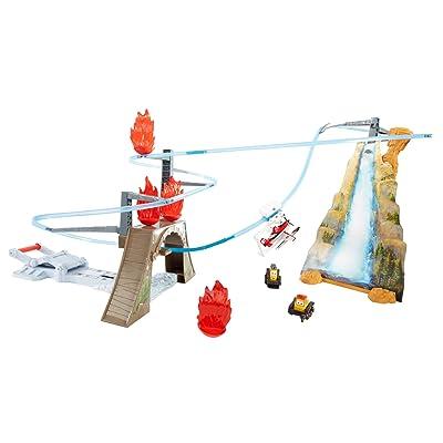 Disney Planes: Fire & Rescue Piston Peak Trackset: Toys & Games