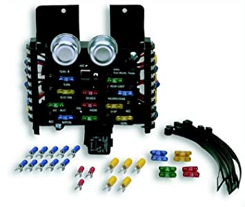 71v5vZgigGL._SX355_ amazon com painless 30001 12 circuit ato fuse center automotive painless fuse box at bakdesigns.co