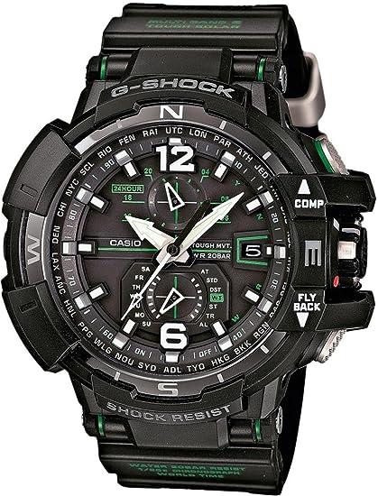 Casio G-Shock Tough Solar Reloj radiocontrolado para hombres Multiband 6 & Solar