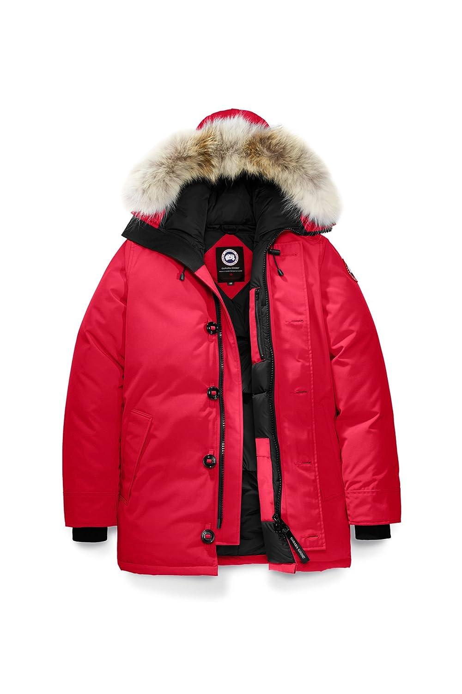 (カナダグース) CANADA GOOSE メンズ Chateau Parka Men's Style # 3426M [並行輸入品] B076H72R21 L レッド レッド L