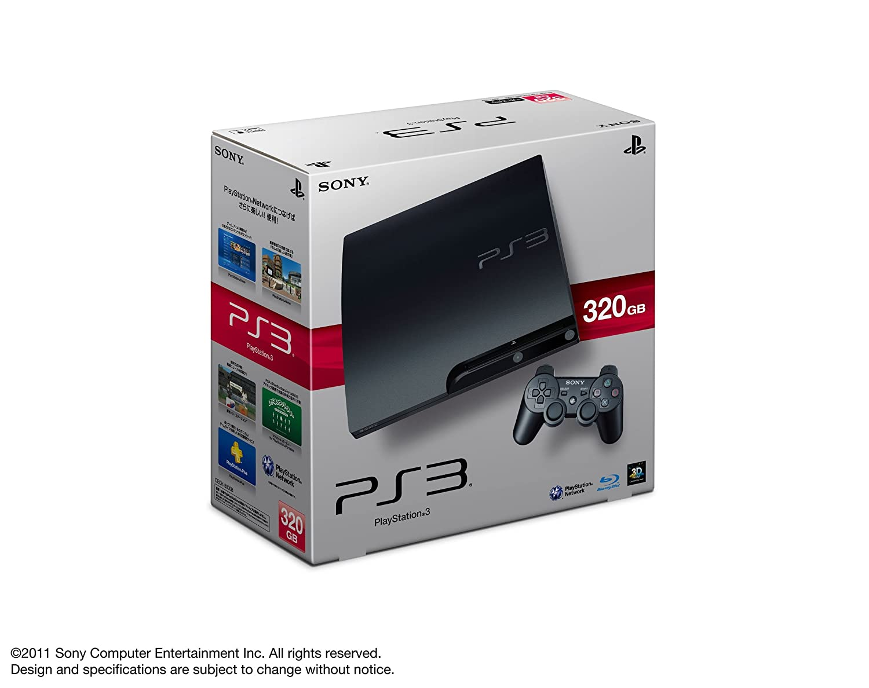 PlayStation 3 (320GB) チャコールブラック (CECH-3000B)【メーカー生産終了】 B0055X6JL6