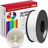 PLA Filamento de Impresora 3D, Precisión Dimensional +/- 0.02 mm, 1kg Carrete, PLA Blanco Filamento 1.75mm PLA impresora…