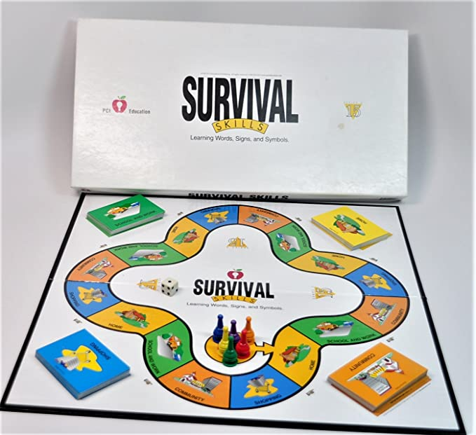 Amazon Pci Education Survival Skills Learning Words Signs