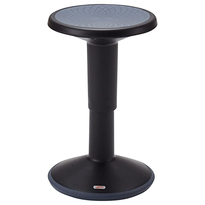 Ecr4kids Sitwell Adjustable Stool Core Engagement Active Sitting Stool With Adjustable Height Black Amazon Co Uk Business Industry Science