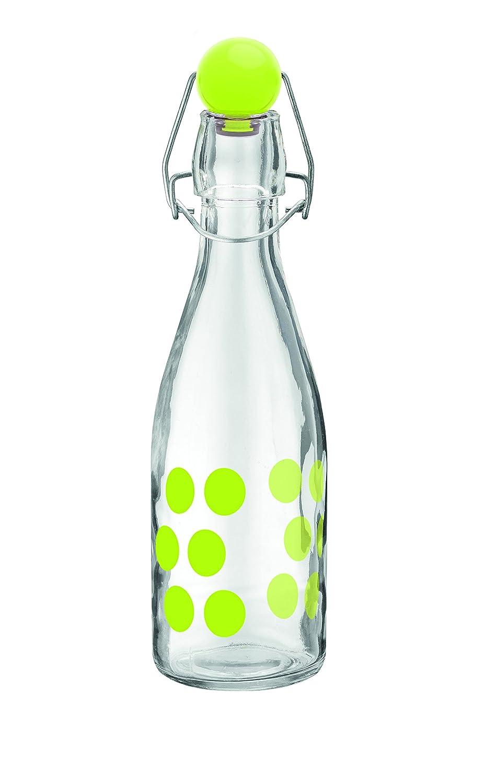 Zak Designs 0204-170 Dot Bouteille Verre Vert 1 L
