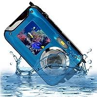 Fotocamera impermeabile Camera 24MP Videocamera impermeabile Videoregistratore FULL HD 1080P Selfie Dual Screen DV Recording