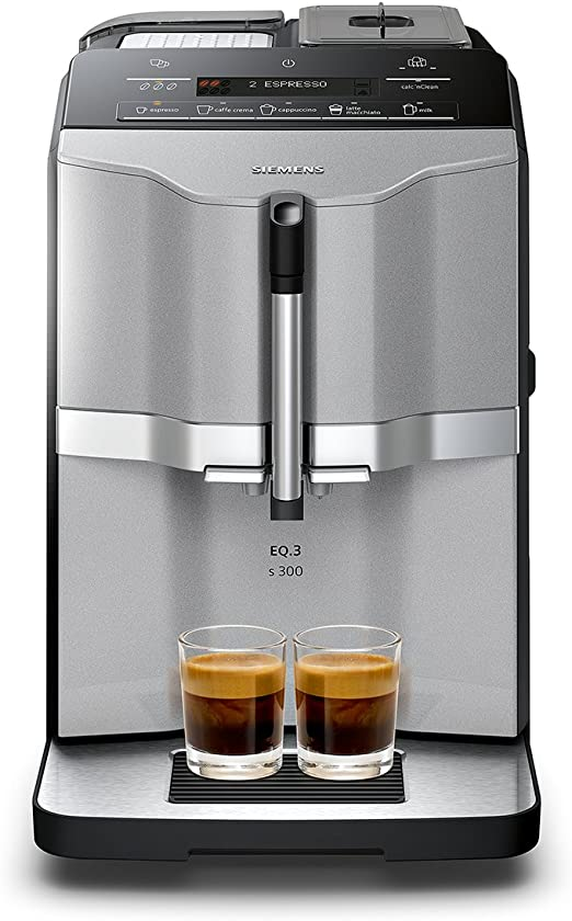 Siemens TI303503DE Independiente Máquina espresso Negro, Acero ...