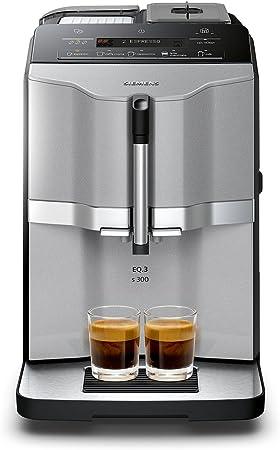 Siemens TI303503DE Independiente Máquina espresso Negro, Acero inoxidable - Cafetera (Independiente, Máquina espresso, Granos de café, Molinillo integrado, Negro, Acero inoxidable): Amazon.es: Hogar
