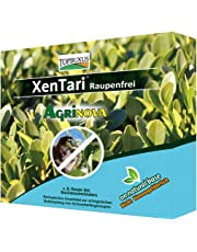TOPBUXUS XenTari 15x1g for 150m2, stops and prevents Boxwood caterpillars and the oak processionary caterpillar, prof. dosage. Bio product, save for bees and birds.