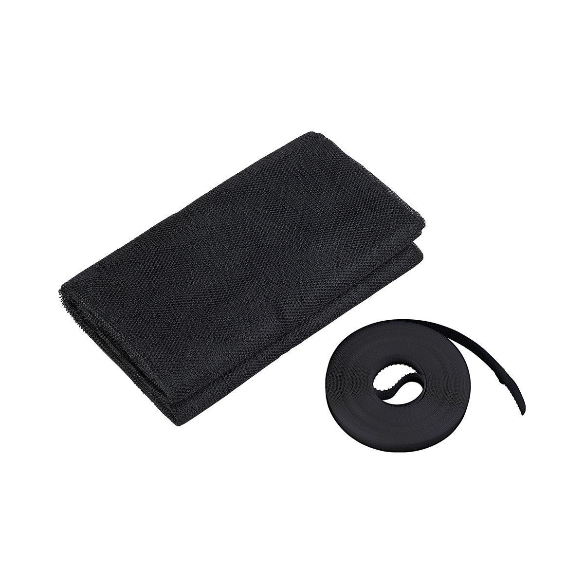 100190105-CU antracita//gris Culex poli/éster-mosquitera para ventana 130 x 150 cm