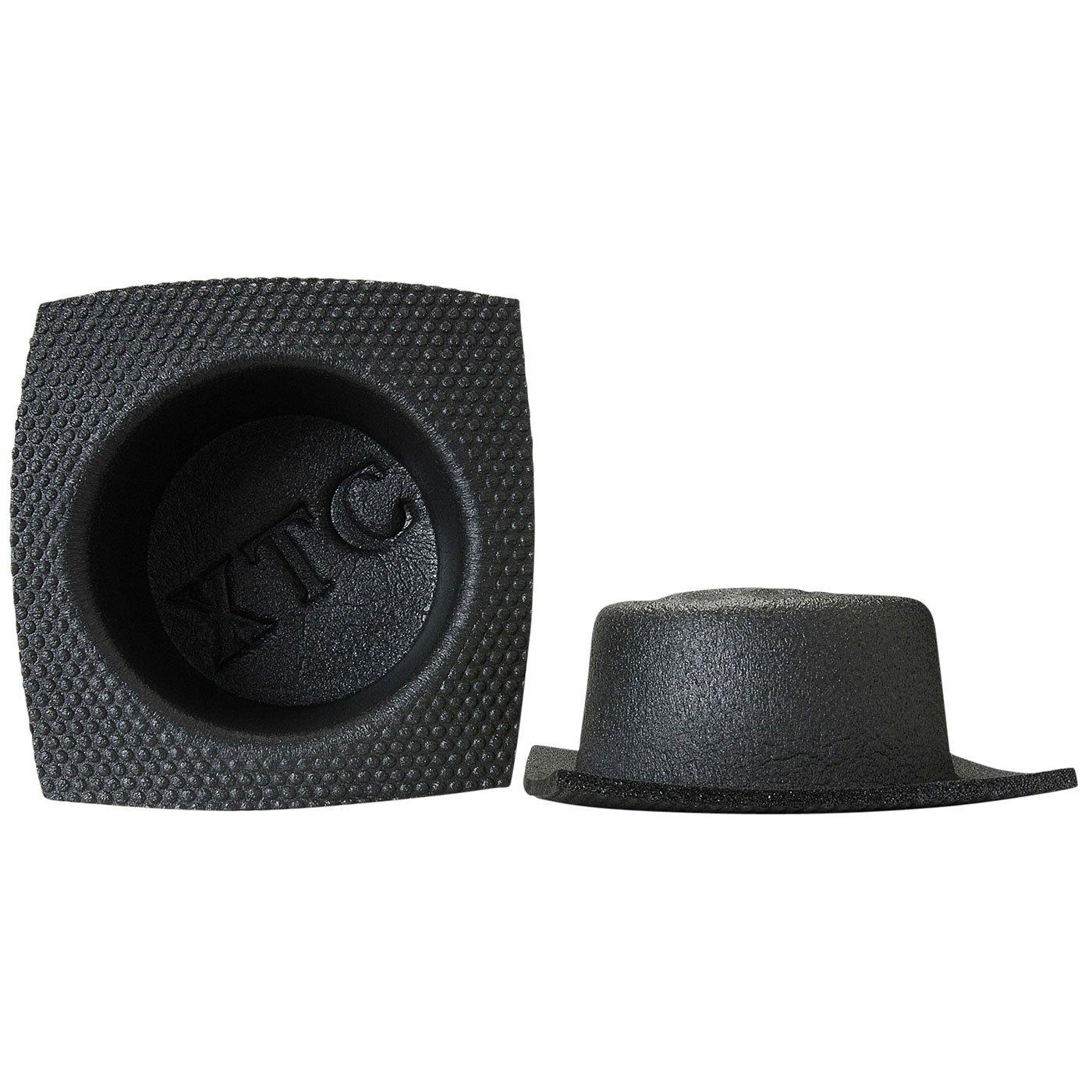 Vertek//XTC XTC 6-3//4 Round Large Frame Shallow Foam Baffle Pair 4350459415
