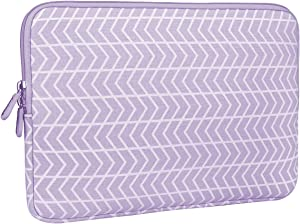 Aucase Laptop Sleeve Case for 13-14 inch Notebook Tablet, Thickest Lightest Water Repellent Protective Travel Bag