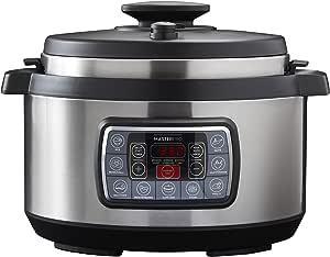 MASTERPRO 12 in 1 Ultimate Cooker 12 in 1 Ultimate Cooker, Stainless Steel/Black, MPULTIMATECOOK