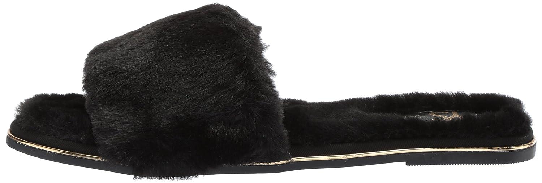 Yosi Samra Women's Rose Slide Sandal B071G1QFWY 10 B(M) US|Black