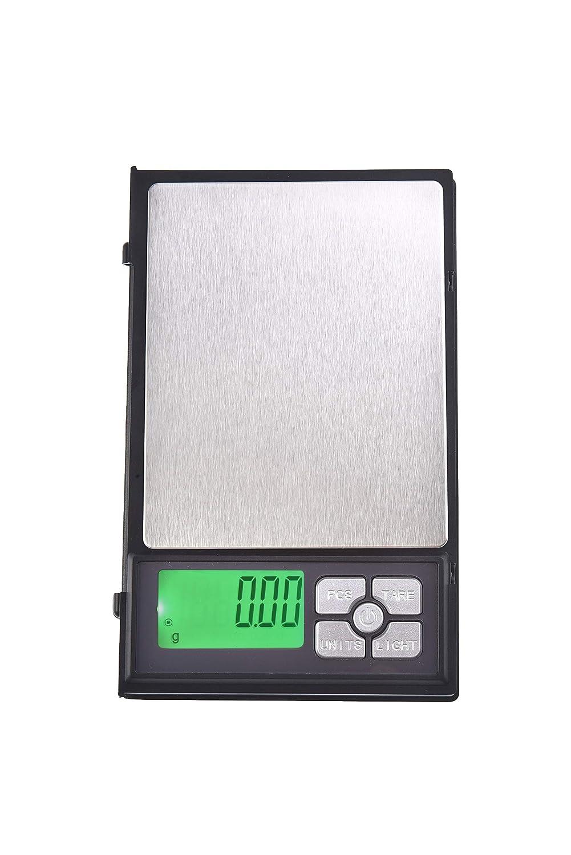 Quantum Abacus Bilancia digitale di precisione/pesalettere / bilancina dell'orafo/bilancetta di precisione/bilancia tascabile, 500gr / 0,01gr, Mod. DBJB-500g0.01