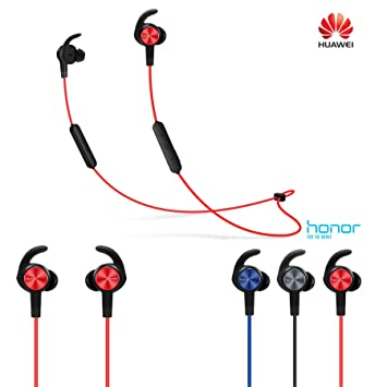 Huawei Honor Xsport AM61 inalámbrico auriculares Bluetooth Magnético absorción 137 mAh IPX5 impermeable auriculares: Amazon.es: Electrónica