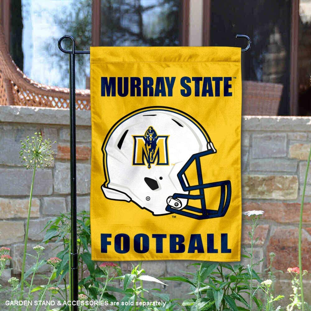 College Flags and Banners Co. Murray State Racers フットボール ヘルメット ガーデンヤードフラッグ