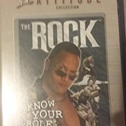 Amazon com: WWF: The Rock - Know Your Role [VHS]: The Rock