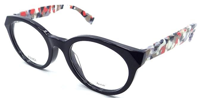 Fendi Rx Eyeglasses Frames FF 0205/F 5OM 50-21-140 Blue Multicolored ...