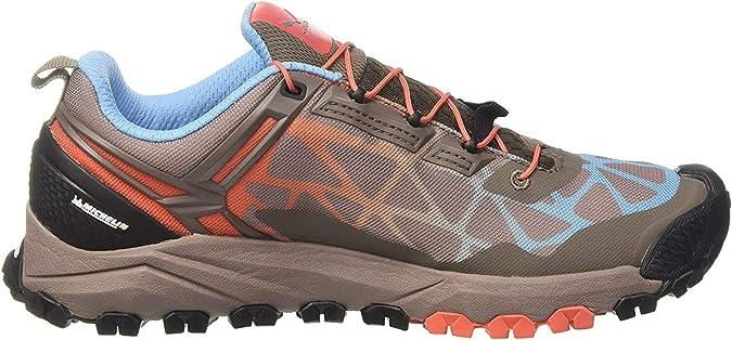Salewa WS Multi Track, Zapatillas de Senderismo para Mujer, Gris (Cinder/Hot Coral 0726), 42 EU: Amazon.es: Zapatos y complementos