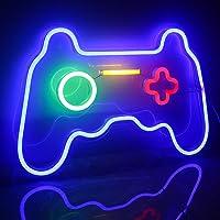 Ineonlife Juego Signos de Neón Luz de Neón Xbox LED Luces de Neón Arte de Pared Azul Luz de Noche de Neón para Niños…