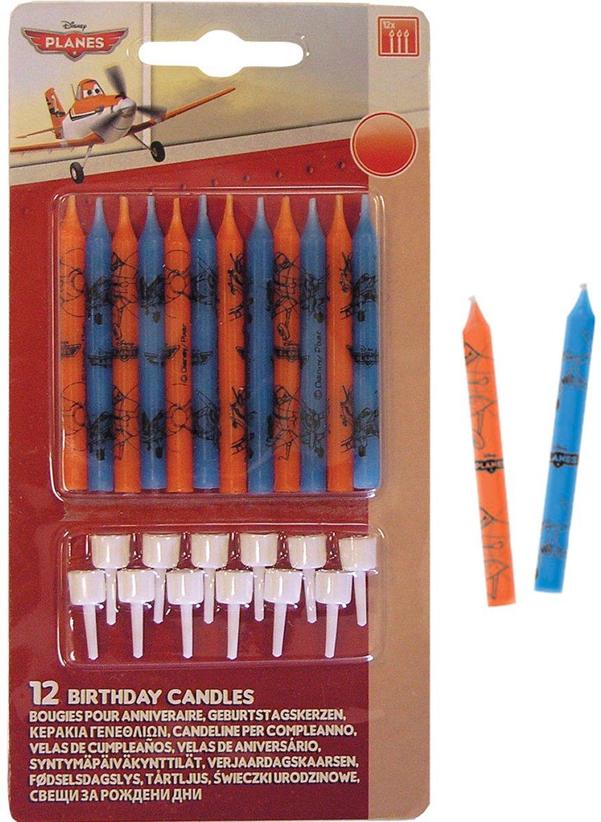 12 velas * DISEÑO DE AVIONES * De Disney para pasteles o ...