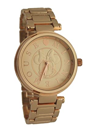 Image Unavailable. Image not available for. Color  Disney  MN2196 Minnie Mouse  Rose Gold Women Watch 5bd5048da3a7