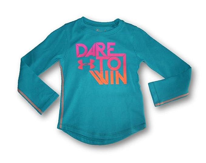 f877f771 Amazon.com: Under Armour Child Girls UA Dare To Win Waffle L/S Shirt ...