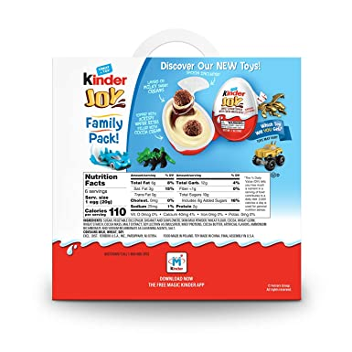 Kinder Joy - Chocolates con juguetes sorpresa: Amazon.com ...