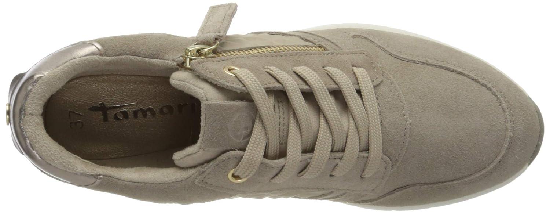 1 1 23702 24 Leder, Zapatillas para Mujer, (Taupe Comb 426)