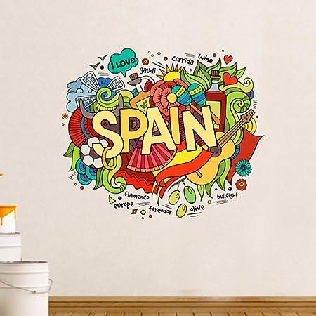 I Love España ilustración Fashion boda decoración vinilo ...