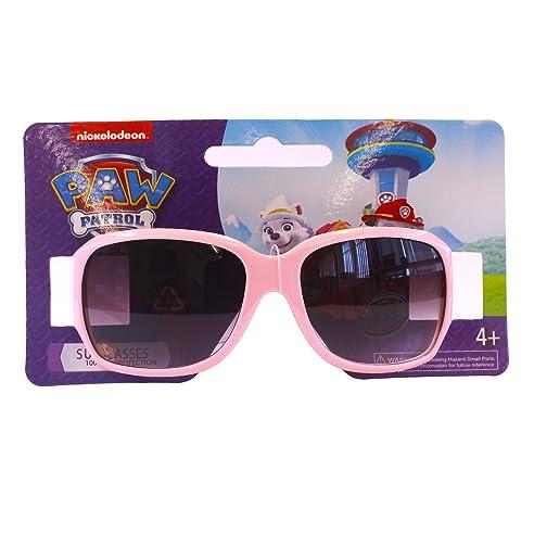 Paw Patrol-Sonnenbrille mit Skye und Everest für Mädchen, Rosa, ab 4 Jahren, UV-400-Schutz
