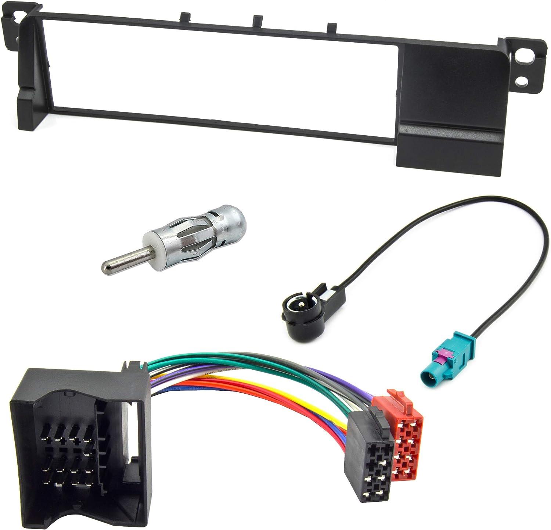 Watermark Radioblende Adapter Für Bmw E46 Mit Quadlock Radioadapter Auto