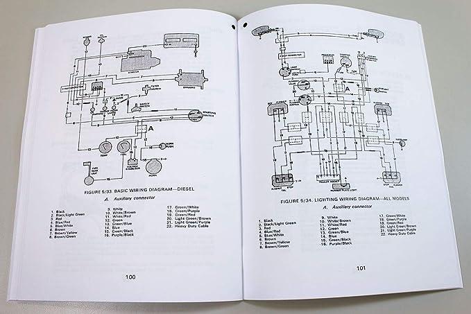 Case 990 Tractor Starter Switch Wiring Diagram
