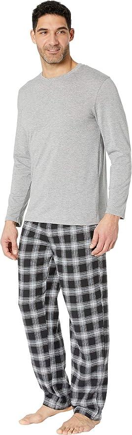 YYXDP Conjunto De Pijamas para Hombre Pijama Tradicional De 2 Piezas Pijamas De Franela para Hombre De Oto/ñO//Invierno Traje De Manga Larga con Rebeca De Terciopelo Y Engrosado